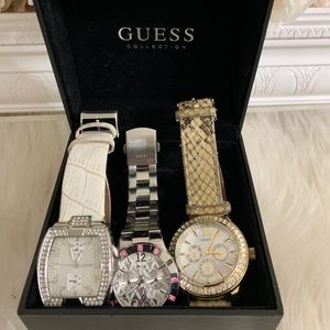 3 GUESS Collection Watches For $35 Small